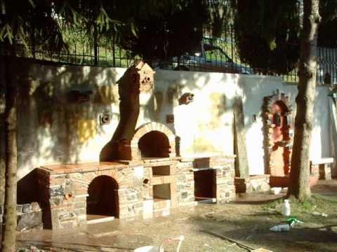 barbecue in muratura idee tendenza : costruire un barbecue..massimilianocervo@libero.it - YouTube