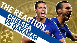 Zappacosta Scores A Screamer. Watch The Goals & More From Chelsea vs Qarabag   The Reaction