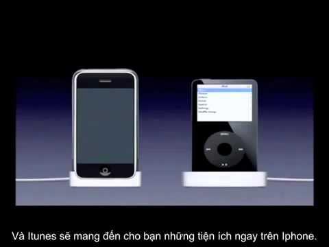 Chiếc iphone đầu tiên ra mắt