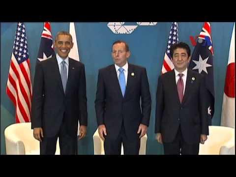 Mỹ, Nhật, Úc kêu gọi giải pháp hòa bình cho tranh chấp lãnh hải
