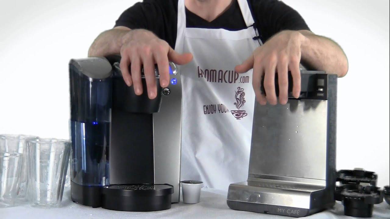 Keurig Coffee Maker Multi Cup : Keurig vs BUNN MCU Single Serve Multi-Use Coffee Maker - YouTube
