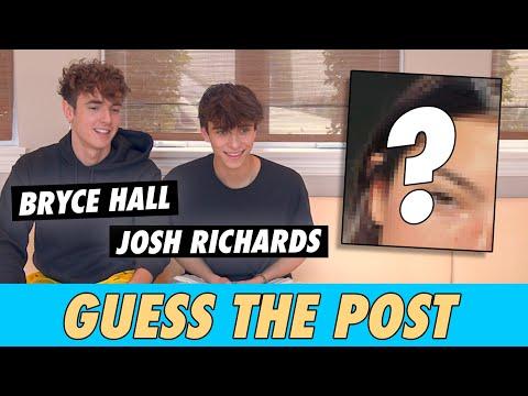 Bryce Hall vs. Josh Richards - Guess The Post