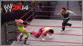 WWE 2K14 Matt & Jeff, The Hardy Boyz Make Their Way To