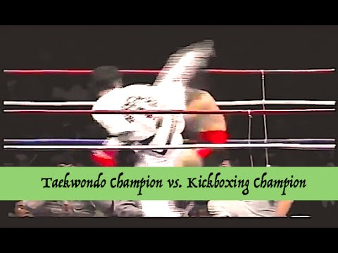 Taekwondo (ITF) Champion vs. Kickboxing Champion | Lawrence Kenshin