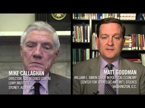 Views Across the Pacific: Matt Goodman & Mike Callaghan discuss the G20