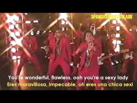 Bruno Mars - Treasure (Lyrics - Sub. En Español)