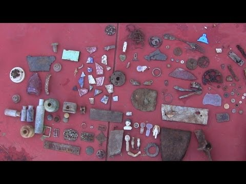 Sifting and Panning 1800's Australian Bottle Dump for Coins, Relics, Bottles, Gold, Silver - Part 2