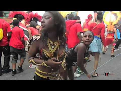Butterflymodels - Notting Hill Carnival 2012 - DeWinery Part 1