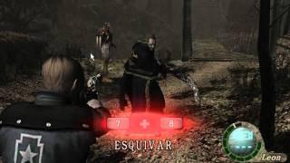 Resident Evil 4 Pc Toque De La Muerte De Wesker Y Leon Vrs