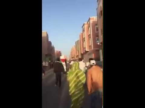 علم البوليساريو يرفرف وسط حملة انتخابية بمدينة العيون