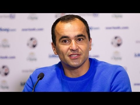Roberto Martinez pre-Cardiff press conference