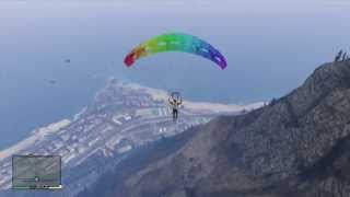 GTA V How To Equip Your Parachute