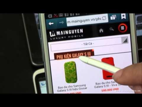 Giới thiệu website MaiNguyen.vn phiên bản Mobile - www.mainguyen.vn