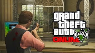 GTA 5 Online: Pacific Bank Heist Custom Ornate Bank