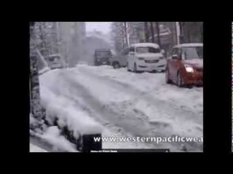 Nangan Low Update, Heavy Snow in Tokyo