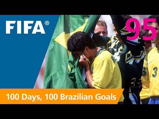 95 days to GO-AL! Bebeto (USA 1994)