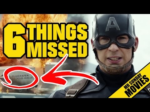 CAPTAIN AMERICA: CIVIL WAR Trailer Easter Eggs, References & Things You Missed