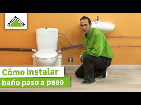 Como instalar pvc sanitario phim video clip for Retrete leroy merlin