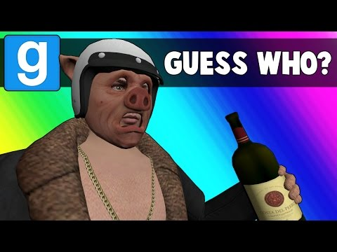Gmod Guess Who Funny Moments  GTA5 Online Apartment Map Garrys Mod