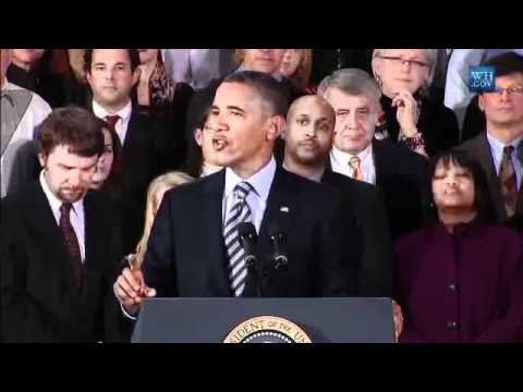 President Obama speech in Ohio