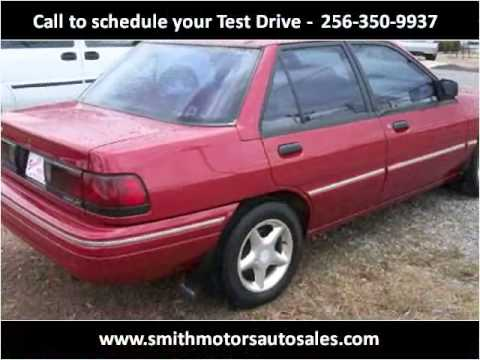 1992 Mercury Tracer Used Cars Decatur Al Youtube