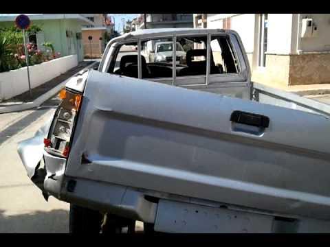 TOYOTA GIANT,TOYOTA HILUX,ατυχηματα,αυτοκινητα No1,CARS,malesina