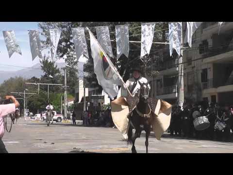 Desfile gaucho por la Semana de la Tradición