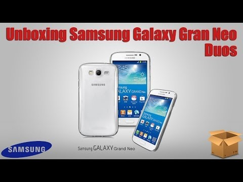 Unboxing Samsung Galaxy Gran Neo Duos GT-I9063T - Português BR by Angelo Persona