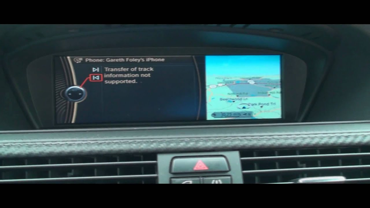 Bluetooth Music Streaming With Bmw S Idrive Youtube