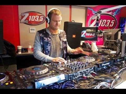 Dash Berlin spins a set on the Drive at 5 Streetmix on Z103.5!