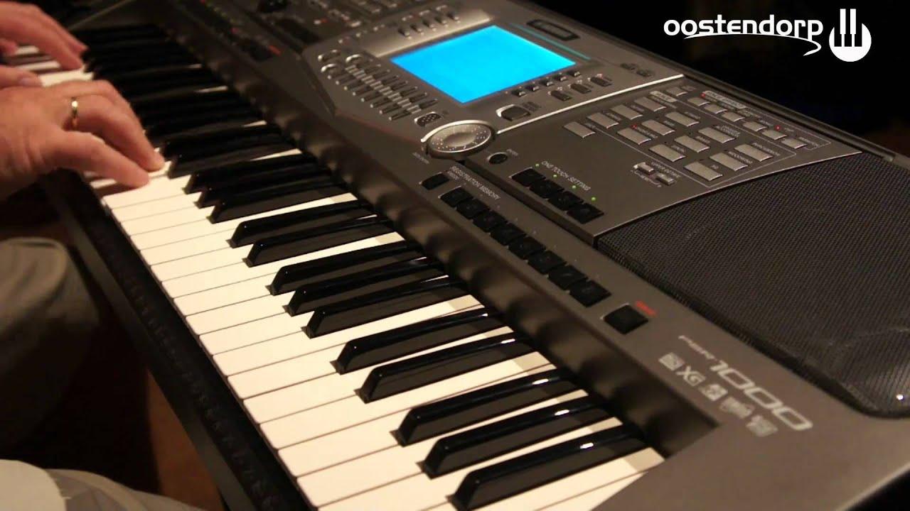 Yamaha psr 1000 keyboard bij muziekcentrum oostendorp for Yamaha psr 410 keyboard