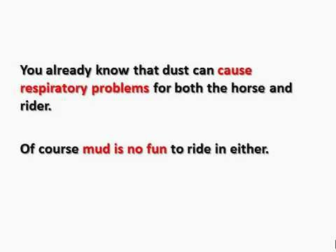 ARENACLEAR - Horse Arena Dust and Mud Control