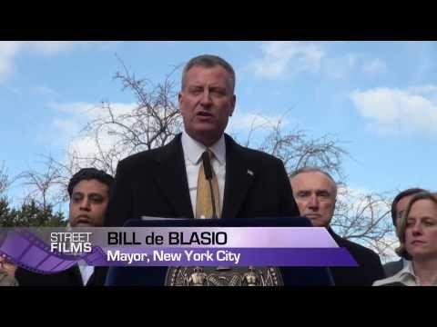NYC Mayor Bill de Blasio Makes Historic