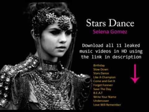 Selena Gomez Stars Dance Official Video - YouTube
