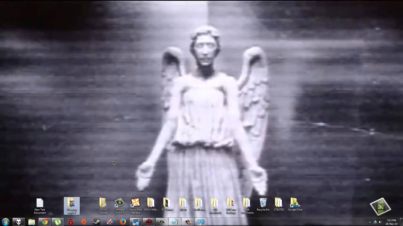 how to make a weeping angels animated wallpaper youtube