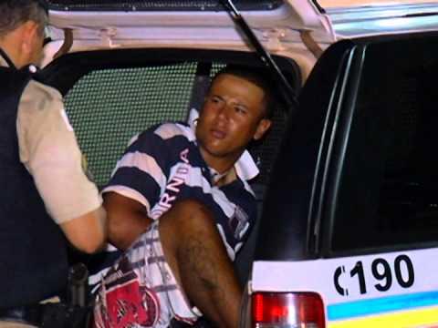 Jovem de 18 anos ameaça família e é preso no bairro Canaã