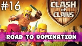 Clash Of Clans Road To Domination: Town Hall 6 Base