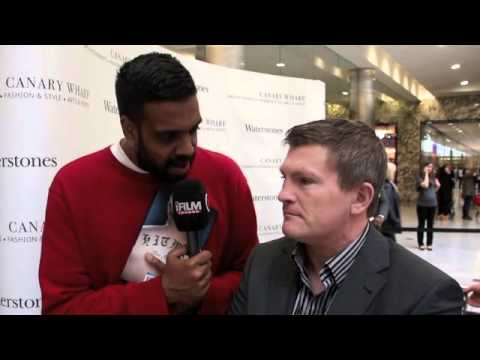 RICKY HATTON TALKS WAR & PEACE BOOK, MAYWEATHER / KHAN, & BROOK v SENCHENKO