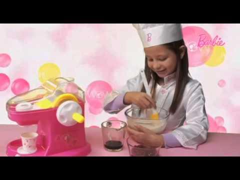 ¡Mira la nueva Maquina de Helado Barbie!