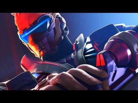 Overwatch - BONE Soldier 76 Epic Skin Gameplay