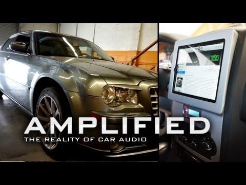 Amplified 75, Chrysler 300 SRT8 iPad install with Audison Voce Bit Ten D system