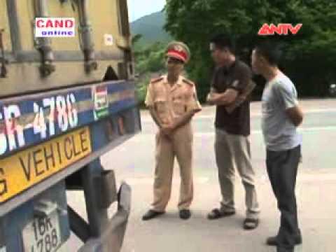 Bản tin 113 vn: CSGT Công an tỉnh Lạng Sơn chống buôn lậu ở vùng biên