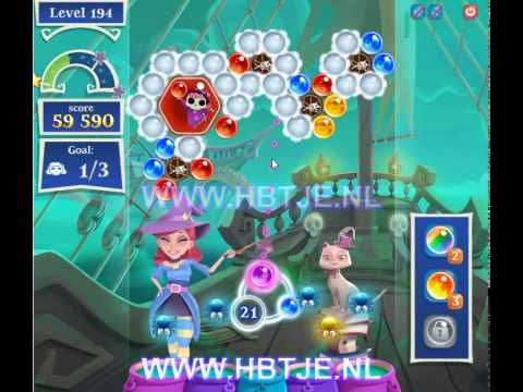 Bubble Witch Saga 2 level 194