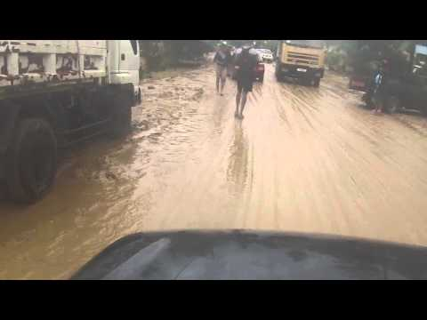 Saint Lucia Post Christmas Eve Floods - Journey to Dennery