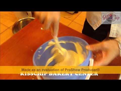 Hướng Dẫn Làm Bánh Gato cơ bản - Bài 1 : Cốt Bánh Gato - Trung tâm dạy làm bánh gia đình kisschip