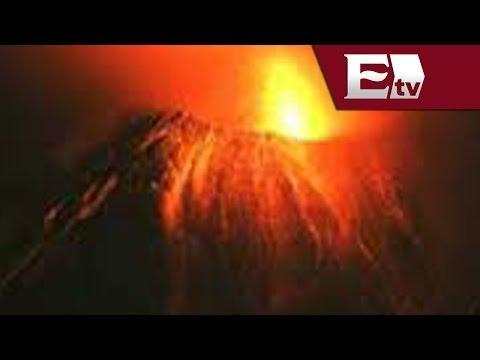 Volcán  Pacaya hace erupción en Guatemala / Titu image