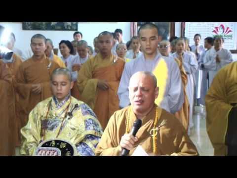 Lễ Khai Kinh 18/03/2012 Chùa Giác Hòa Phường 2 TPVL
