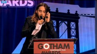 Jared Leto Accepts Matthew McConaughey's 2013 Best Actor