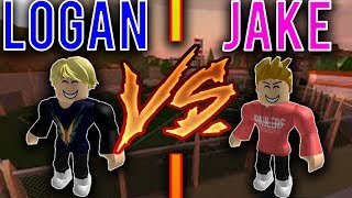 Jake Paul vs Logan Paul [Roblox Jailbreak Edition]