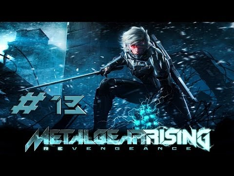 [HD] Metal Gear Rising Revengeance Part 13 (no commentary)